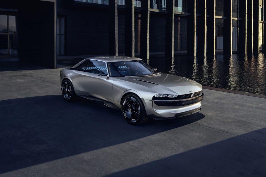 Awd Sports Cars >> Peugeot e-LEGEND Concept - die Zukunft des modernen ...